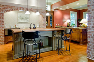 contemporary metal kitchen stools